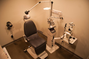 Lakeshore Eyecare Center Exam Equipment