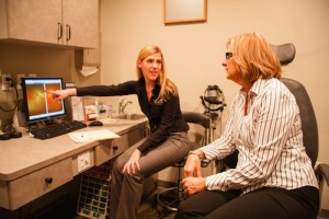 Lakeshore Eyecare Center Exam Patient