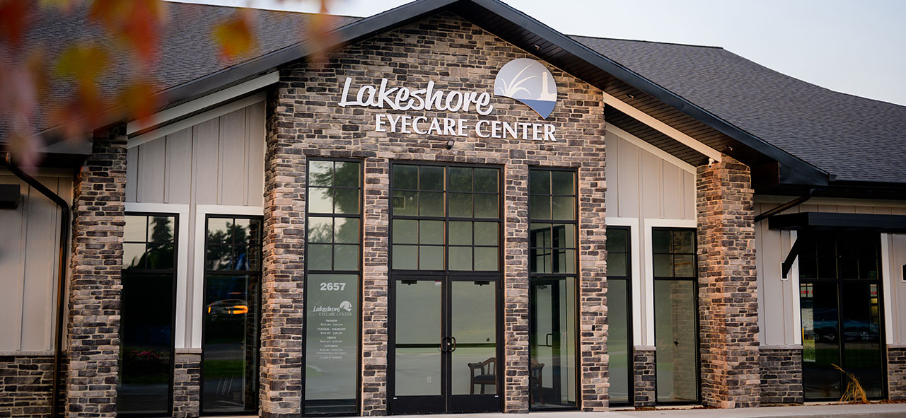 Front of Lakeshore Eyecare Center